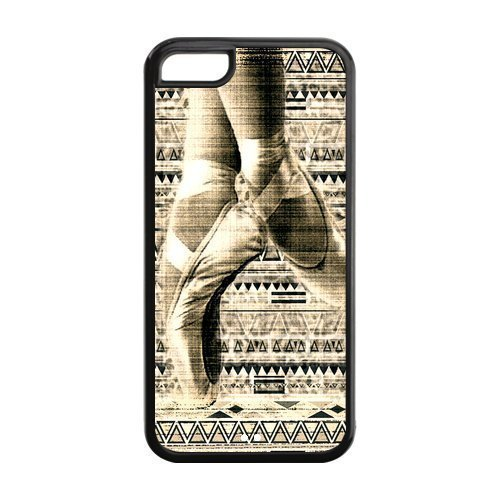 Vintage Retro Ballet Pointe Shoes Phone Case [Customizable by Buyers] [Create Your Own Phone Case] Slim Fitted Hard Protector Cover for iPhone 6