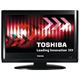Toshiba 22AV615DB 22-inch Widescreen HD Ready LCD TV with Freeview - Blackby Toshiba