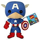 "Captain America - Avengers - Marvel Comics - 7"" Plush Toy"