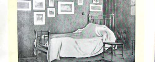 Leighton Bedroom 1896 の芸術ジャーナル臨終の主