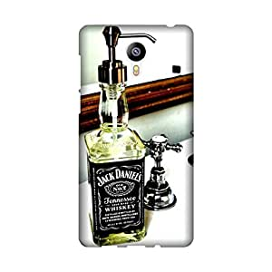 StyleO Meizu M2 Note Designer Printed Case & Covers Matte finish Premium Quality (Meizu M2 Note Back Cover) - Jack Daniel