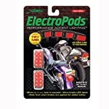 Street FX 1043311 ElectroPods Chrome Moto Brake Light