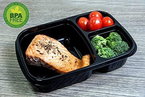 Bento Lunch Box Containers Food Portion