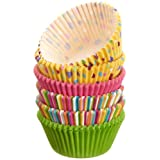 Wilton Assorted Rainbow Standard Baking Cup Mega Pack, 150 Count – Just $3.99!