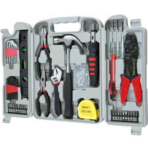 Trademark Stalwart 75-6037 Hand Tool Set, 130-Piece