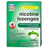Rite Aid Stop Smoking Aid, Nicotine Lozenges, 4 mg, Mint Flavor 72 ct.