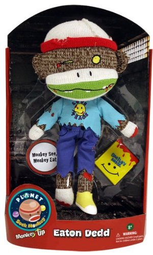 Patch Products 5934 Planet Sock Monkey - Eaton Dedd