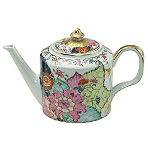 Mottahedeh Tobacco Leaf Teapot 6 in