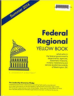 Federal Regional Yellow Book, Summer 2014: Who