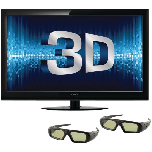Where Can I Buy Coby 40-Inch 3D 1080p 120 Hz LED-LCD HDTV with Two Pairs of 3D Glasses Best Price