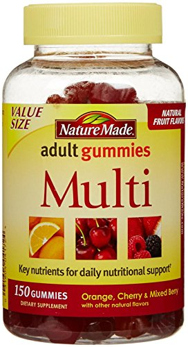 Nature Made Adult Gummies Multi Value Size-150 ct (Nature Made Multi Adult Gummies compare prices)