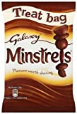 Mars Galaxy Minstrels Treat Bag 105 g (Pack of 16)