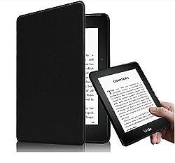 Qinda Super Slim Flip Case Cover for Amazon Kindle E Reader 6