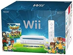 Console Nintendo Wii blanche - 'Inazuma Eleven : Strikers' série limitée