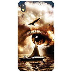 HTC Desire 816 - Eyes Matte Finish Phone Cover