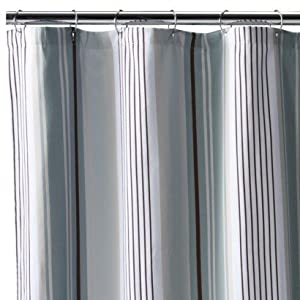 fieldcrest luxury stripe fabric shower