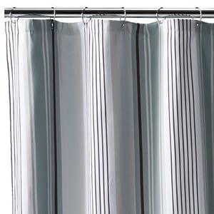 Amazon Fieldcrest Luxury Stripe Fabric Shower