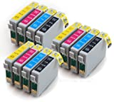 Epson Stylus DX6050 x12 Compatible Printer Ink Cartridges
