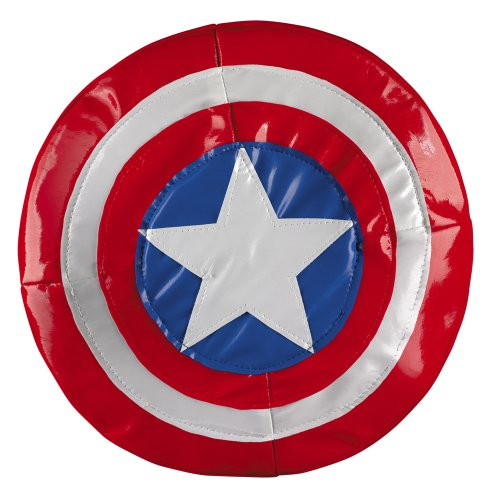 2 PACK Marvel TM Captain America Costume Shield -SOFT 9.5""