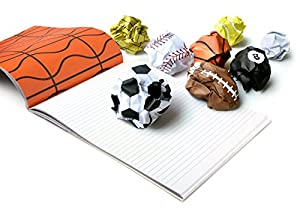 PLAY MORE Scribble and Dribble Notepad, 48 Sheets