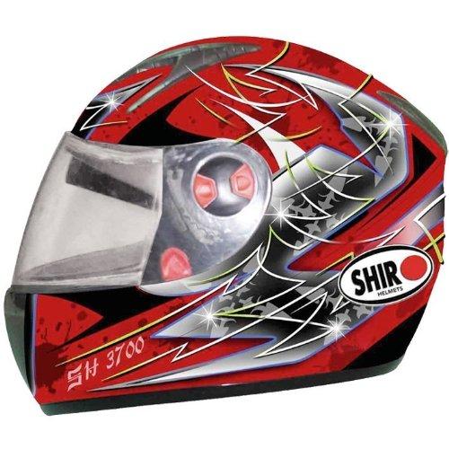 Casque intégral SH-3700 Monza rouge : M : Shido