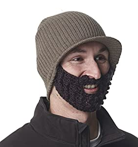 The Original Beard Beanie - Jeep Earth with Black