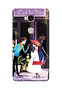 Sowing Happiness Printed Back Cover for Huawei Honor 5x