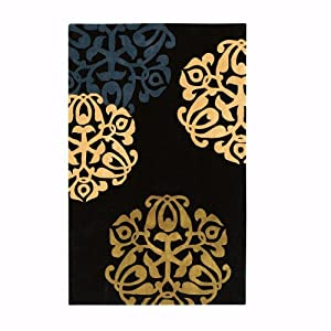 chadwick area rug 8 39 x11 39 black gold area rug sets