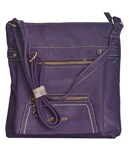 NOVICZ Latest Trendy Fashion Ladies Bag Beautiful Shoulder Bag Women S Hand  Bag Vanity Bag College Bag Purple Colour Price in India  bf305c9ec7ad3