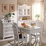 Ausziehtisch-8014090-mit-mittiger-Platte-50-cm-Landhausstil-vintage-massiv-Holz-Kiefer-Antik-Wei-matt-leicht-vanillefarben