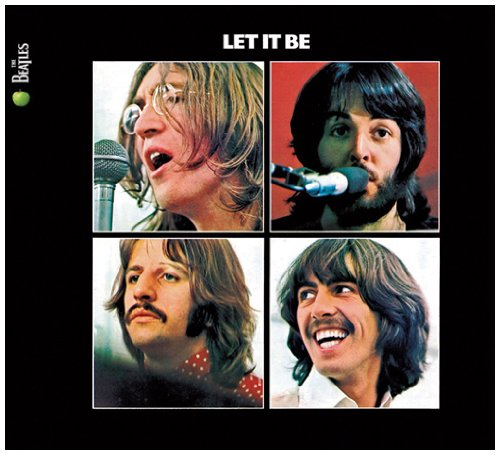 Original album cover of Let It Be by The Beatles