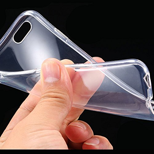Ultra Thin Slim Crystal Clear Soft TPU Cover Case Skin for 4.7