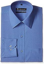 Hancock Men's Formal Shirt (4502Sky Blue_40)