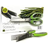 Herb Cutting Scissors by Plant Theatre - 5 Blades - Gift Idea