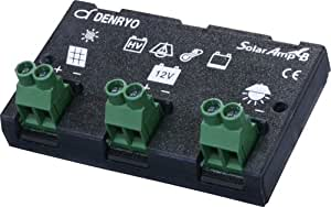 電菱 太陽電池充放電コントローラー Solar Amp B 10A/12V SA-BA10