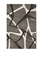 Contemporary Kitchen Alfombra Shrub Gris