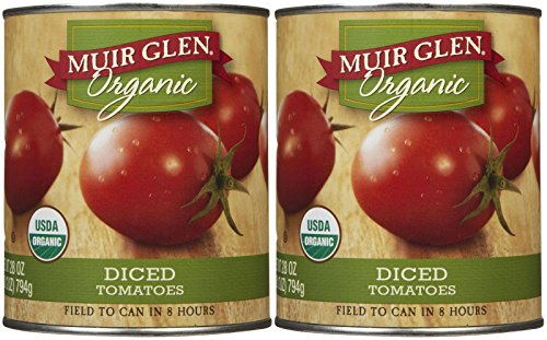 Muir Glen Organic Diced Tomatoes - 28 oz - 2 ct (Muir Glen Tomatoes Diced 28 Oz compare prices)