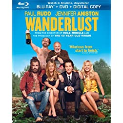 Wanderlust (Two-Disc Combo Pack: Blu-ray + DVD + Digital Copy + UltraViolet)