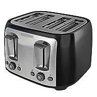 BLACK+DECKER TR1478BD 4-Slice Toaster…