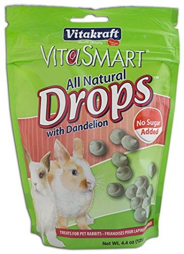 Vitakraft VitaSmart No Sugar Added Drops with Dandelion for Pet Rabbits (Yogurt Drops For Rabbits compare prices)