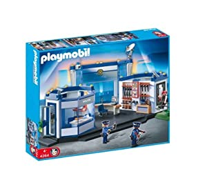 Playmobil - 4264 - Jeu de construction - Commissariat de police