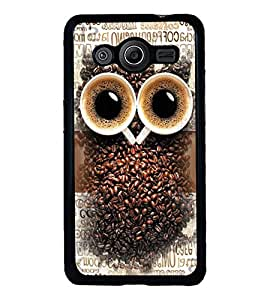 PRINTVISA The Embarasing Girl Premium Metallic Insert Back Case Cover for Samsung Galaxy Core 2 - G355H - D5706