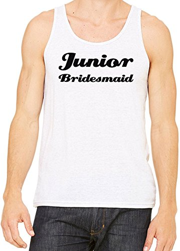 Junior Bridesmaid Funny Slogan Canotta Uomini Donne XX-Large