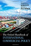 img - for The Oxford Handbook of International Commercial Policy (Oxford Handbooks) book / textbook / text book
