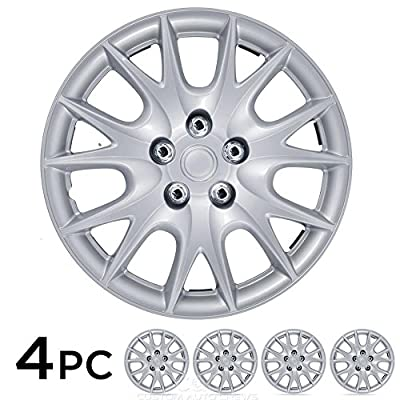 "15"" Wheel Cover Hubcap 4 PC OEM Replacement Hub Cap ABS NEW"