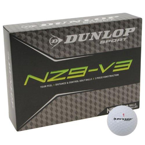 Dunlop sport attrezzature accessori NZ9sacchetto V3bassa Volo di palla di Golf-X12