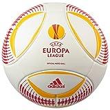 アディダス 12-13 ヨーロッパリーグ 5号球 ホワイト×レッド×イエロー