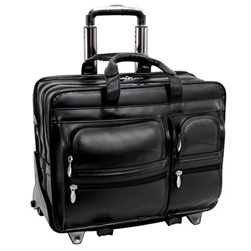 mcklein-usa-88445-clinton-p-series-leather-17-inch-detachable-wheeled-laptop-case-black