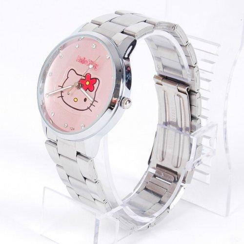 Hello Kitty Hello Kitty Diamante Wrist Watch Band Wristwatch