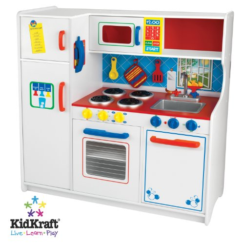 Deluxe Let's Cook Kitchen Play Set